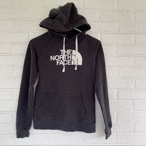 The North Face Hoodie Black White Size Small